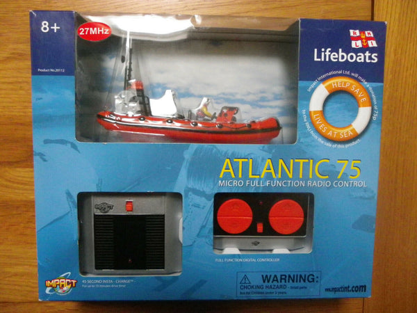 RNLI Atlantic 75 Radio Controlled - Used - LB005 - Very Rare