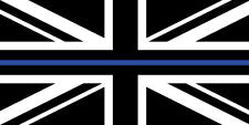 Sticker Union Jack thin blue line