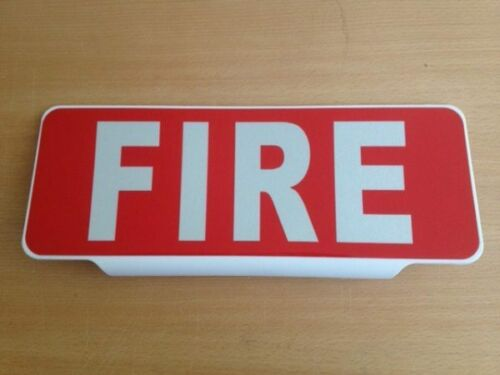 Univisor - Fire - Red with White Text - UNV041-A