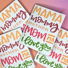 Bright and fun Mother's Day Greeting Card