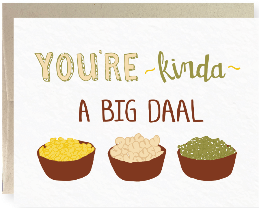Picture of A Big Daal card by PYARFUL