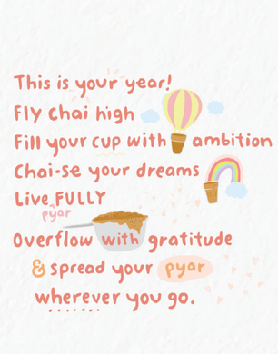 Picture of This is your Year card by PYARFUL