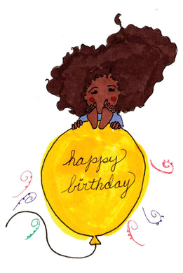 Picture of Happy Birthday card by LITTLE FEET'S OPUS