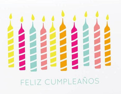 Picture of Velas de Feliz Cumpleaños card by GRAPHIC ANTHOLOGY