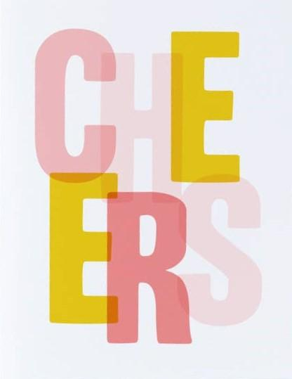 Picture of Cheers card by GRAPHIC ANTHOLOGY