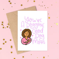 Best Dog Mom Card by Siyo Boutique  on CheerNtoes