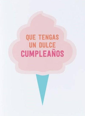 Picture of Dulce Cumpleaños card by GRAPHIC ANTHOLOGY