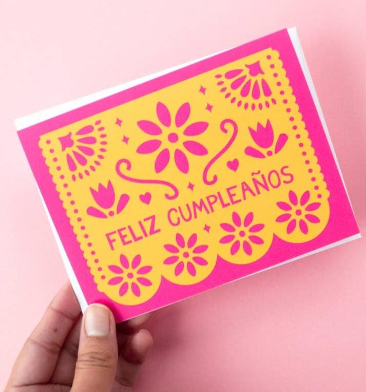 Picture of Feliz Cumpleaños card by GRAPHIC ANTHOLOGY