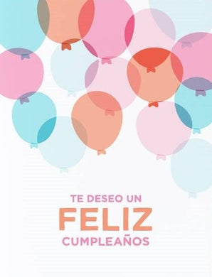 Picture of Globos de Cumpleaños card by GRAPHIC ANTHOLOGY