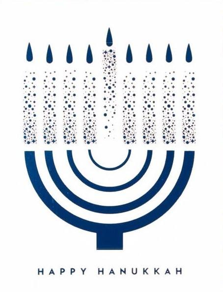 Picture of Happy Hanukkah card by PAISLEY PAPER CO