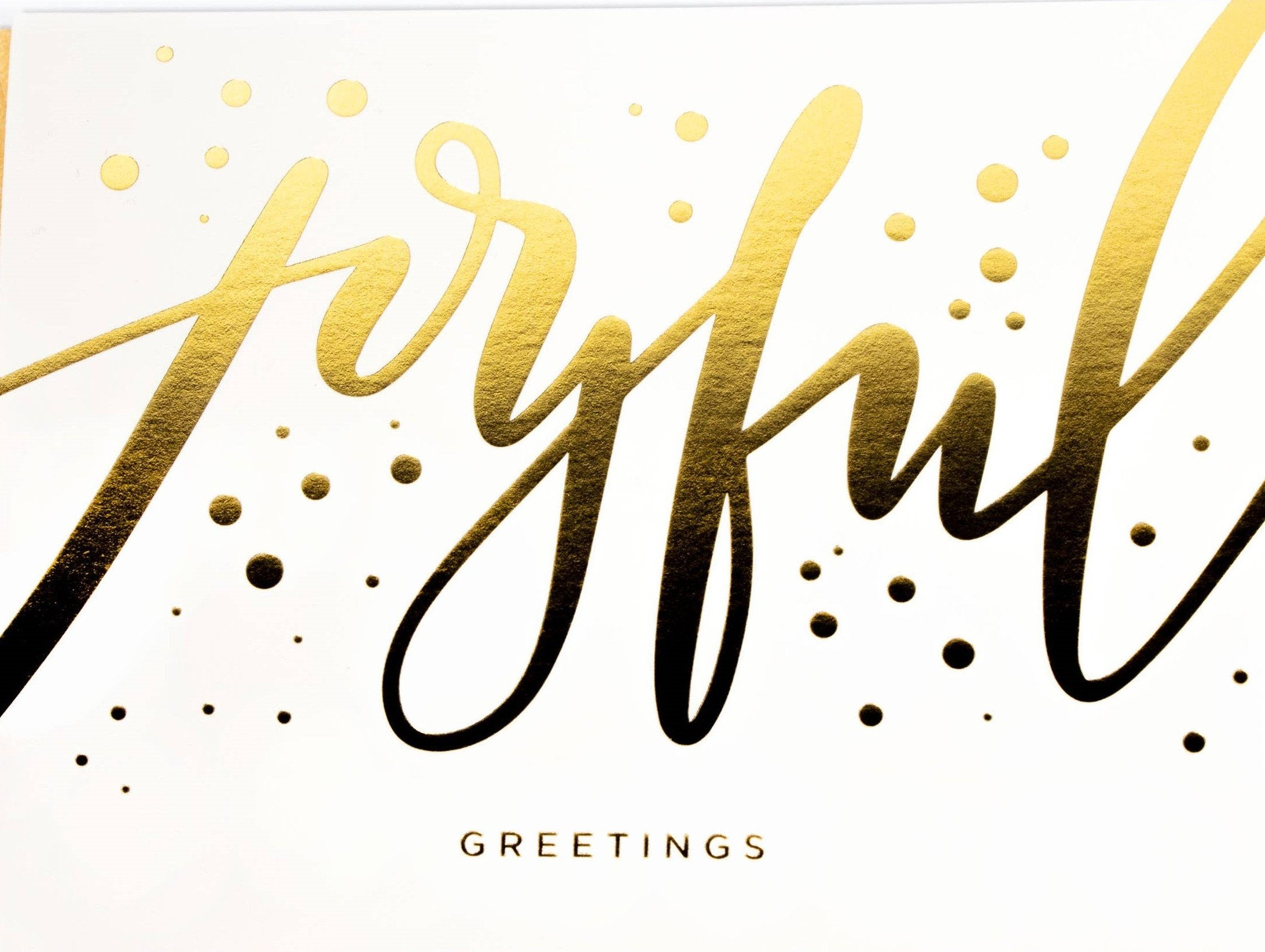 Picture of Joyful Christmas Card card by PAISLEY PAPER CO