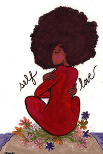 Picture of Self Love card by LITTLE FEET'S OPUS