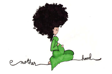 Picture of Motherhood card by LITTLE FEET'S OPUS