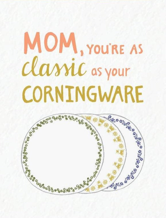 Picture of Mom's Corningware card by PYARFUL