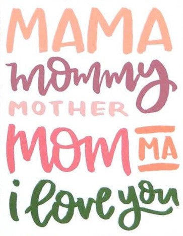 Picture of Mother's Day Mama Card card by SKETCHY NOTIONS