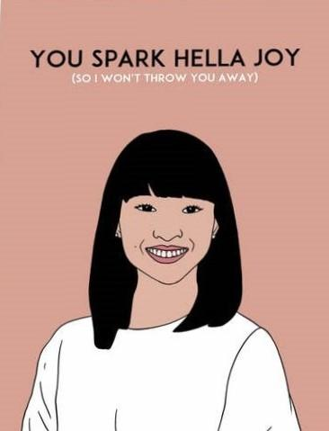 Picture of Spark Hella Joy card by KALEIDADOPE