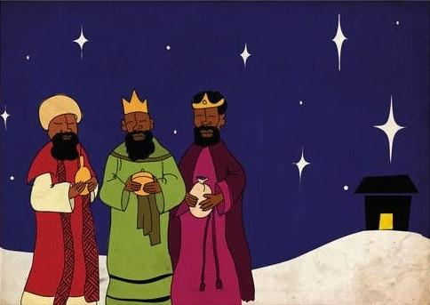 Picture of Three Kings card by BY MS. JAMES