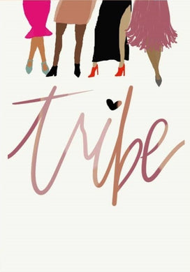 Picture of Tribe card by AIMS MOON PAPERIE