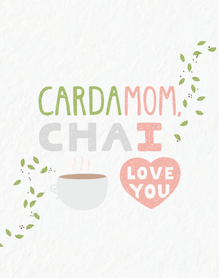 Picture of CardaMOM Chai card by PYARFUL