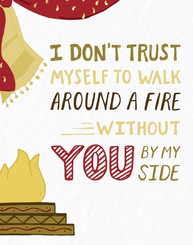 Picture of I Don't Trust Myself card by PYARFUL