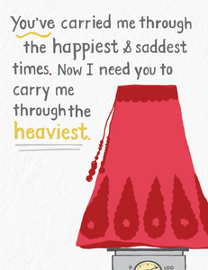 Picture of Heaviest Times card by PYARFUL