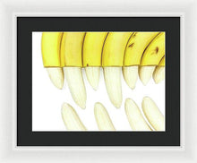 Load image into Gallery viewer, Bananasaurus Rex - Framed Print