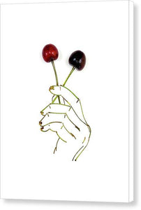 Cherry Pops - Canvas Print