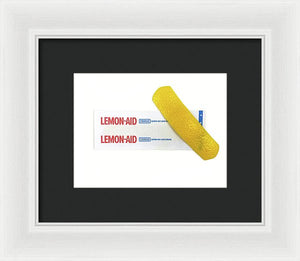 Lemonaid - Horizontal - Framed Print