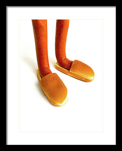 Loafers - Framed Print