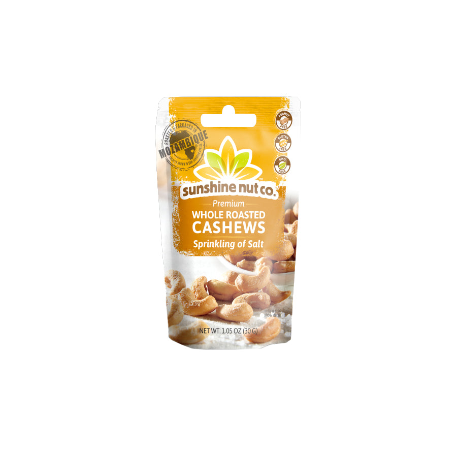 Single Serve Sprinkling of Salt Cashews