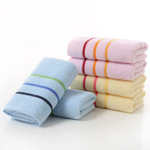 Striped Cotton Hand Towels