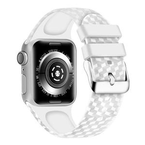 Apple Watch | 3D Texture Silicone | Multiple Colors | Sport