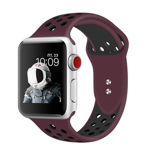 Apple Watch | Breathable Silicone Sports Band
