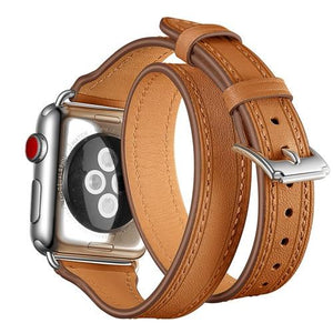 Apple Watch | Double Loop Genuine Leather Band
