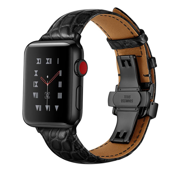 Apple Watch | French Alligator Leather Band