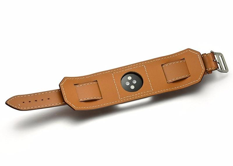 Apple Watch | Genuine Leather Cuff Bracelet Band | Leather Strap