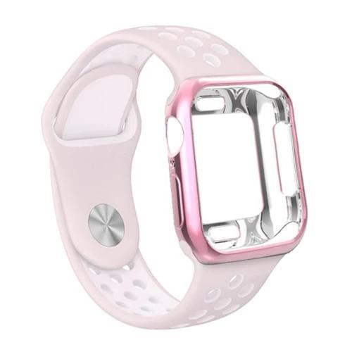 Apple Watch | Silicone Sport Strap & Protection Case