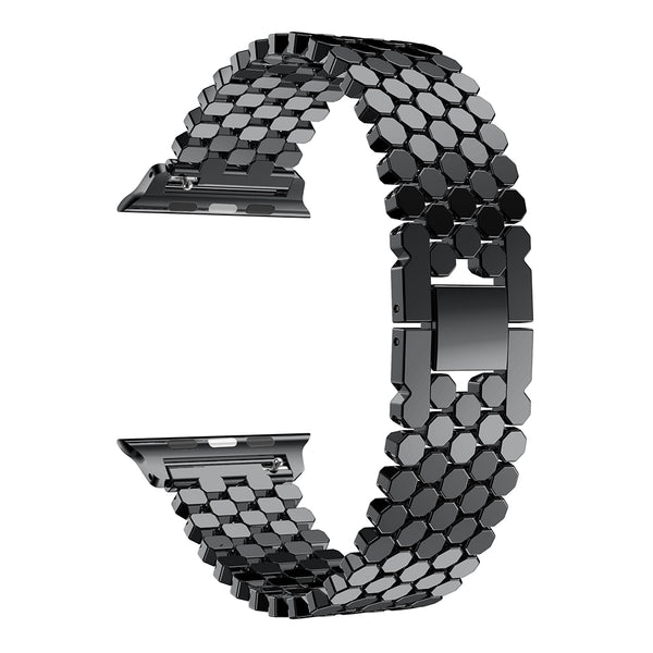 Apple Watch | Stainless Steel Honeycomb Band