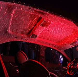 Car interior decoration light