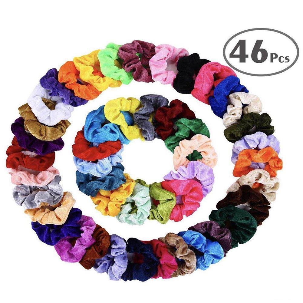40 pack Scrunchies
