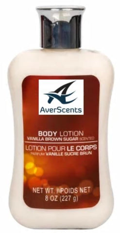 Vanilla Brown Sugar Scented Body Lotion, 8 OZ