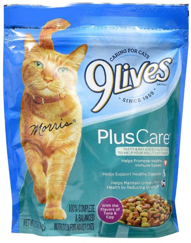 9 Lives Plus Care Cat Food