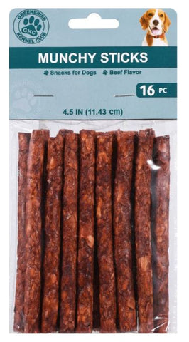 Beef-Flavored Munchy Sticks, 16-ct. Packs