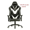 AutoFull White Gaming Chair Big And Tall - AutoFull Official