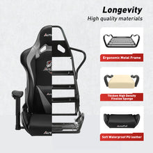Load image into Gallery viewer, AutoFull Computer Gaming Chair,Gray