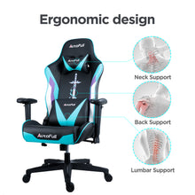 Load image into Gallery viewer, AutoFull Racing Gaming Chair,Cyan …
