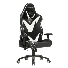 Load image into Gallery viewer, AutoFull White Gaming Chair Big And Tall - AutoFull Official