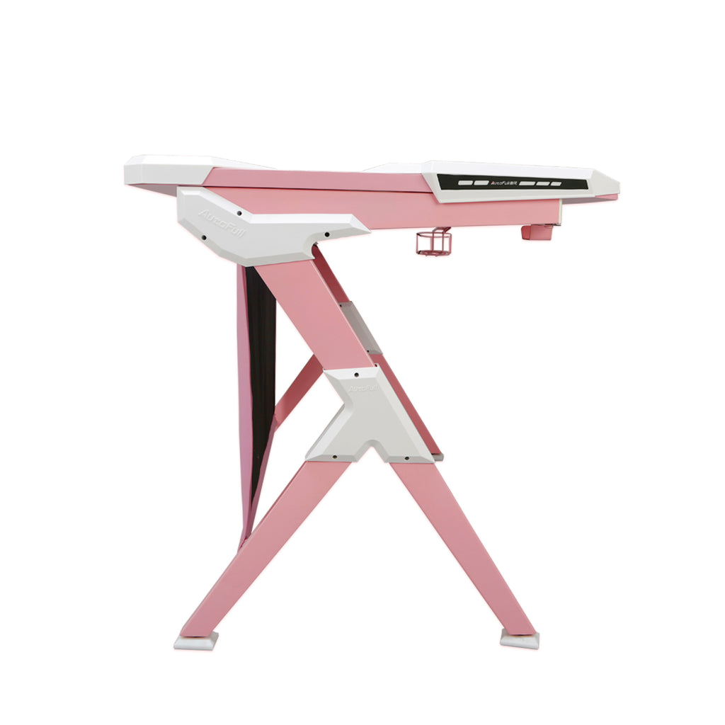 AutoFull Pink Gaming Desk - AutoFull Official