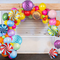 10pc Colorful Candy Party Balloons