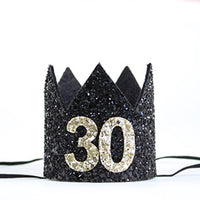 30th Adult Birthday Party Crown
